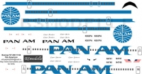 Boeing 727-200 Pan Am decal 1\144