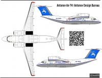 Antonov An-74T  Antonov Airlines decal 1\144
