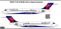 Boeing 717 Delta  Airlines decal 1\144