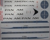 Boeing 707 Pan Am decal 1\144