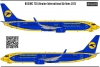 Boeing 737 800 UIA decal 1\144