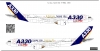 Airbus A330  F-WWKA decal 1\144
