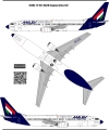 Boeing 737 800, Malev Hungarian Airlines decal 1\144