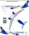 Boeing 737 800,900, MAX UIA decal 1\144