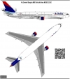 McDonnel Douglas MD11 Delta Airlines decal 1\144