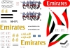 Boeing 777-300ER Emirates A6-EPL decal 1\144